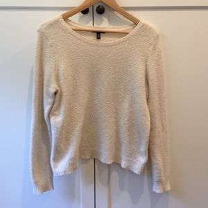 Eileen Fisher organic cotton crew neck sweater